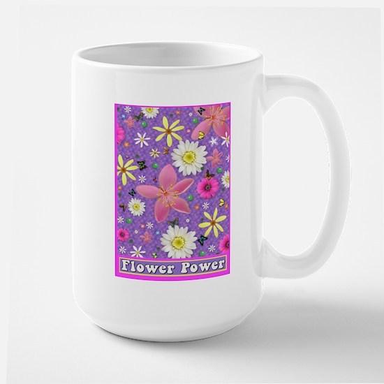 Flower Power Large Mug