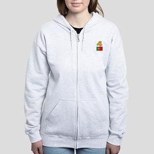 Team Portugal - #4 Women's Zip Hoodie