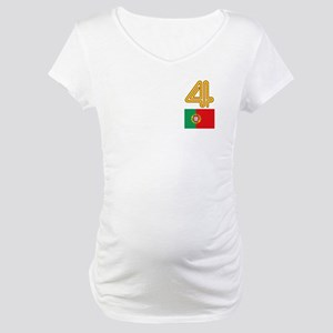 Team Portugal - #4 Maternity T-Shirt