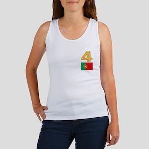 Team Portugal - #4 Women's Tank Top