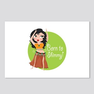Born to Shimmy! Postcards (Package of 8)
