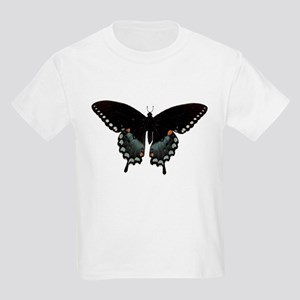 Black Swallowtail Kids Light T-Shirt
