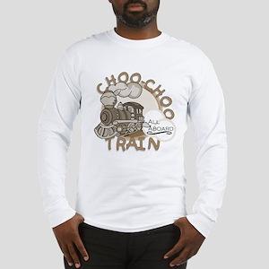 Choo Choo Train Long Sleeve T-Shirt