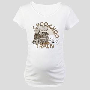Choo Choo Train Maternity T-Shirt