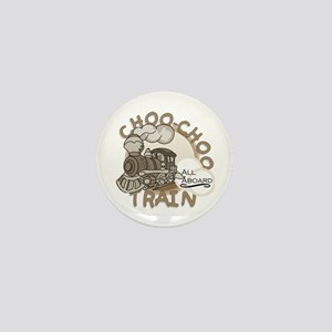 Choo Choo Train Mini Button