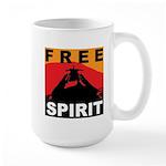 Free Spirit Large Mug