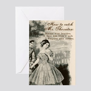 How to Catch Mr. Thornton Greeting Card