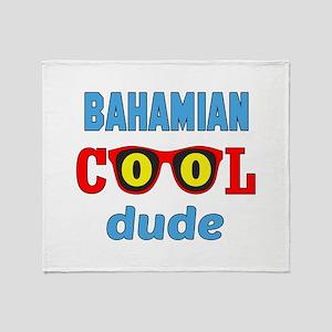 Bhamian Cool Dude Throw Blanket