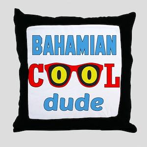Bhamian Cool Dude Throw Pillow