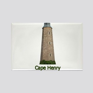 Cape Henry Lighthouse Rectangle Magnet