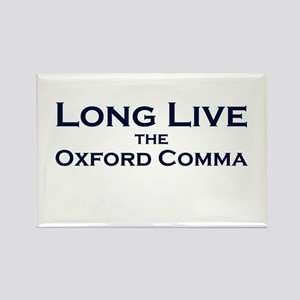 Oxford Comma Rectangle Magnet