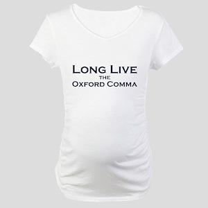 Oxford Comma Maternity T-Shirt