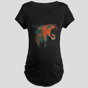 Roaring Lion Maternity Dark T-Shirt