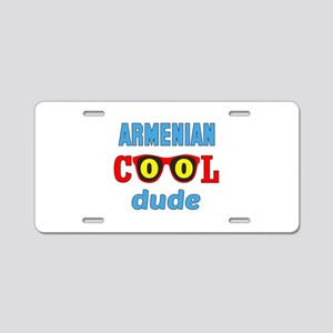 Arenian Cool Dude Aluminum License Plate
