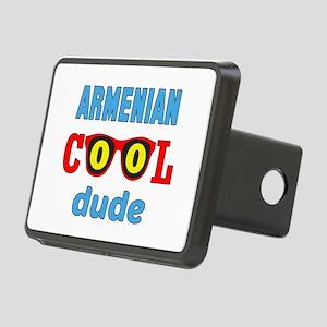Arenian Cool Dude Rectangular Hitch Cover
