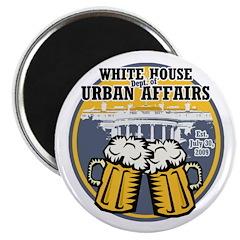 White House Beer Magnet
