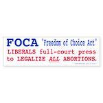FOCA (Bumper Sticker)