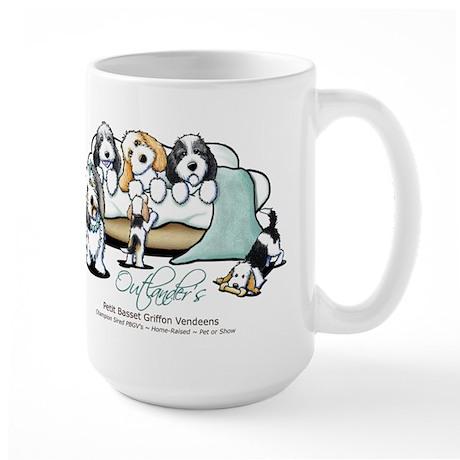 Outlander's PBGV's Large Mug