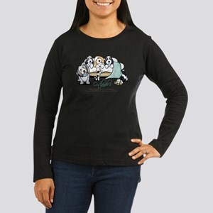 Outlander's PBGV's Women's Long Sleeve Dark T-Shir