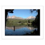 Manzanita Lake, Lassen CA Small Poster