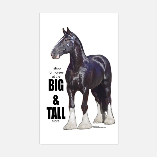 Shire Big & Tall Rectangle Decal