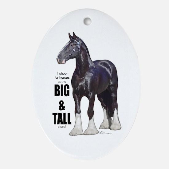 Shire Big & Tall Oval Ornament