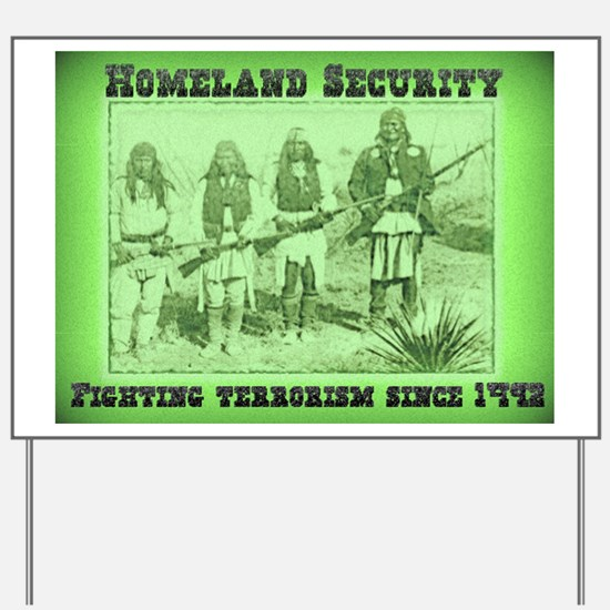 Homeland Security Fighting Terrorism Since 1492 Ya
