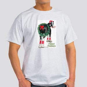 Christmas Shire Draft Horse Light T-Shirt