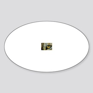WolfWatcher Oval Sticker