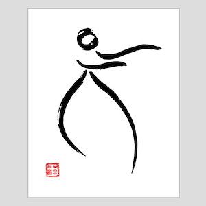 Tai Chi Raise Hands - Small Poster