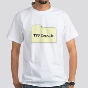 the office banter collection White T-Shirt