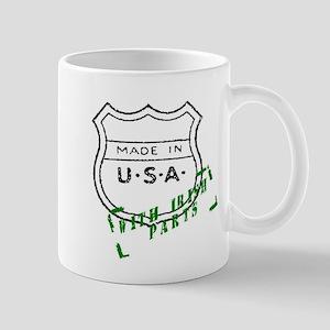 Made in the U.S. W/ Irish Parts Mug