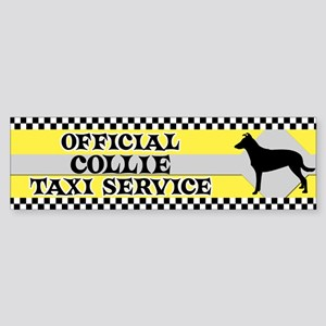 Official Smooth Collie Taxi Bumper Sticker