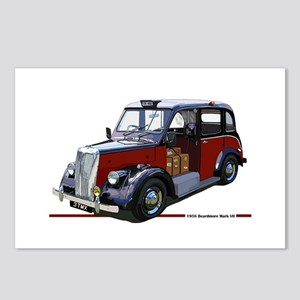 The Beardmore London Taxi Postcards (Package of 8)