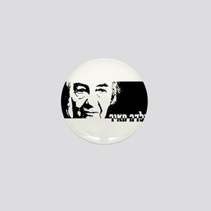 Golda Meir Mini Button