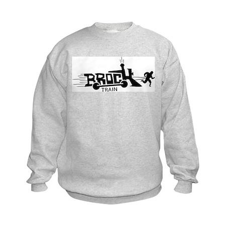 Brock Train Kids Sweatshirt