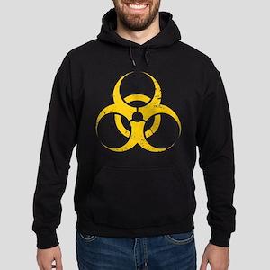 'Vintage' Biohazard Hoodie (dark)