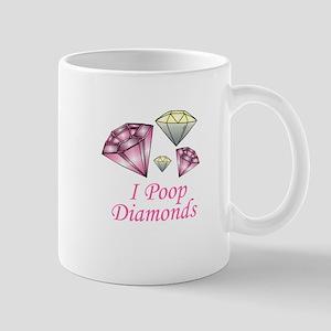 I Poop Diamonds Mug