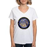 Charlie Rock Women's V-Neck T-Shirt