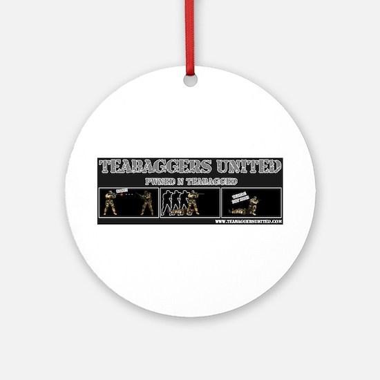 =TBU= TeaBaggers United Ornament (Round)