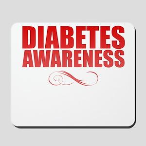 Diabetes Awareness Mousepad