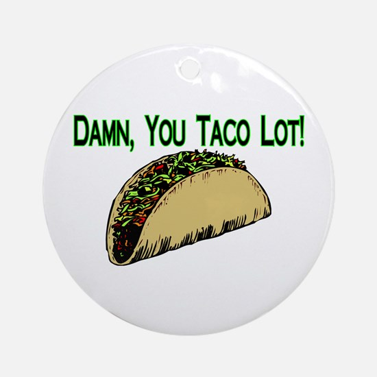 Taco Lot Ornament (Round)