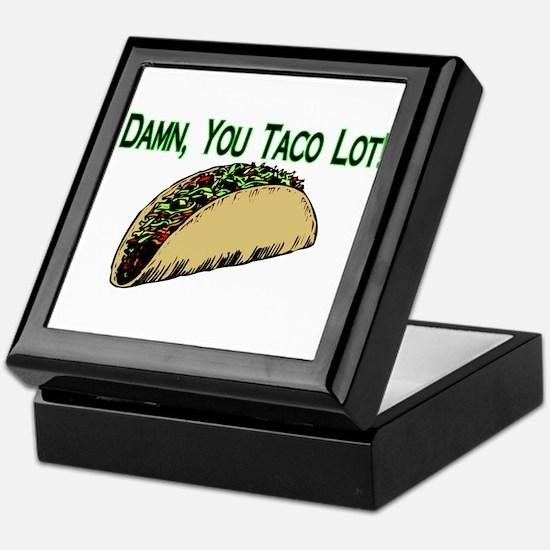 Taco Lot Keepsake Box