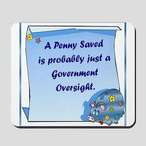 Penny Saved Mousepad