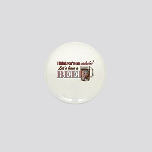 Let's Have a Beer Mini Button