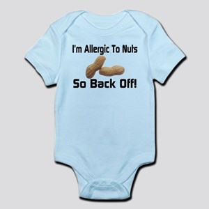 Allergic To Nuts Infant Bodysuit