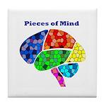 Pieces of Mind Tile Coaster