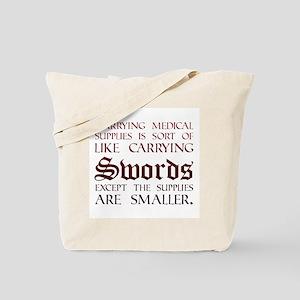 Medical Supplies Tote Bag
