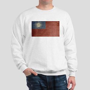 Vintage Burma Flag Sweatshirt