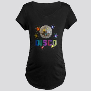 Disco Maternity Dark T-Shirt